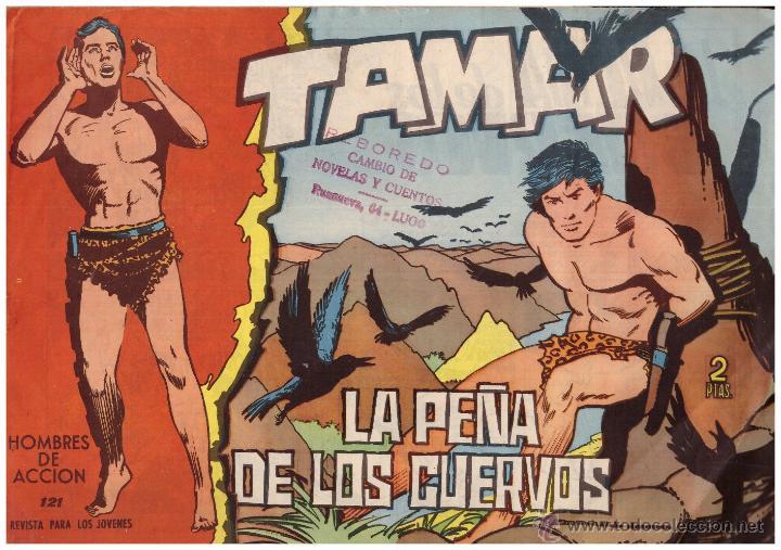 COMIC TAMAR, Nº 121; ED. TORAY - ORIGINAL, AÑO 1961 (Tebeos y Comics - Toray - Tamar)