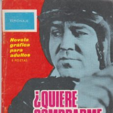 Tebeos: COMIC TORAY ESPIONAJE Nº 16 AÑO 1965. Lote 46374153