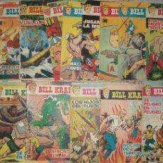 Tebeos: BILL KRAKER (TORAY) LOTE DE 16 NUMEROS DEL 2 AL 24. Lote 46432211