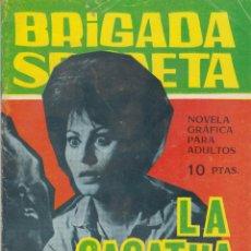 Tebeos: COMIC BRIGADA SECRETA Nº 173 ED.TORAY 1966. Lote 46456484