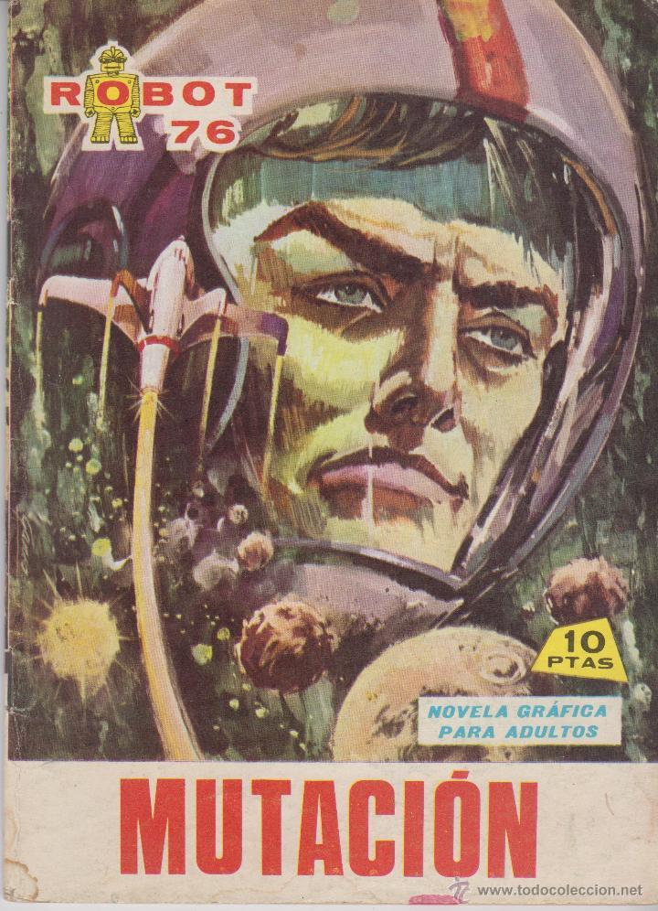 COMIC ROBOT 76 Nº 14 EDICIONES TORAY 1967 (Tebeos y Comics - Toray - Otros)