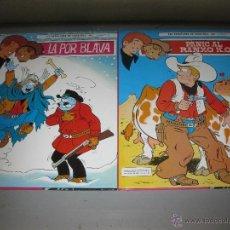 Tebeos: LES AVENTURES DE CHICK BILL Nº 1 Y 2. COMPLETA.TIBET. EDICIONES TORAY 1986. EN PERFECTO ESTADO.. Lote 46571256