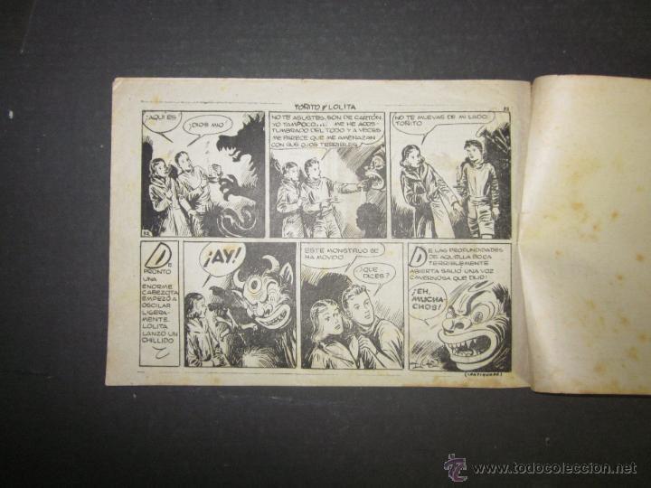 Tebeos: HOJAS DE LA VIDA DE TOÑITO Y LOLITA - NUM 4 -EDICIONES TORAY - DIBUJOS JAIME JUEZ - (COM- 289) - Foto 6 - 46593472