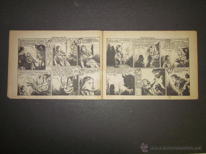Tebeos: HOJAS DE LA VIDA DE TOÑITO Y LOLITA - NUM 6 -EDICIONES TORAY - DIBUJOS JAIME JUEZ - (COM- 291) - Foto 3 - 46593501