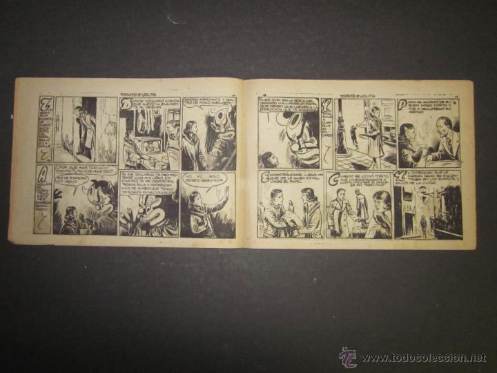 Tebeos: HOJAS DE LA VIDA DE TOÑITO Y LOLITA - NUM 6 -EDICIONES TORAY - DIBUJOS JAIME JUEZ - (COM- 291) - Foto 4 - 46593501