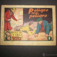 Tebeos: HOJAS DE LA VIDA DE TOÑITO Y LOLITA - NUM 9 -EDICIONES TORAY - DIBUJOS JAIME JUEZ - (COM- 294). Lote 46593558