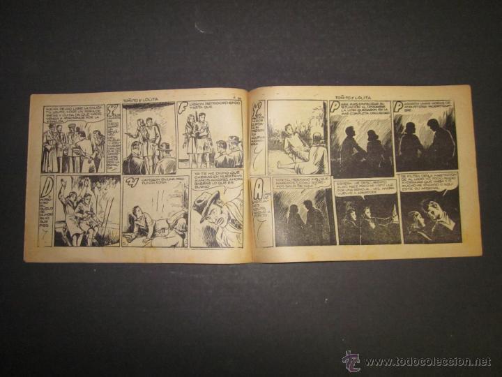 Tebeos: HOJAS DE LA VIDA DE TOÑITO Y LOLITA - NUM 9 -EDICIONES TORAY - DIBUJOS JAIME JUEZ - (COM- 294) - Foto 5 - 46593558