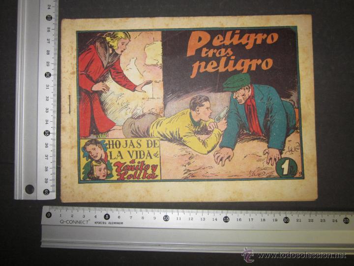 Tebeos: HOJAS DE LA VIDA DE TOÑITO Y LOLITA - NUM 9 -EDICIONES TORAY - DIBUJOS JAIME JUEZ - (COM- 294) - Foto 8 - 46593558