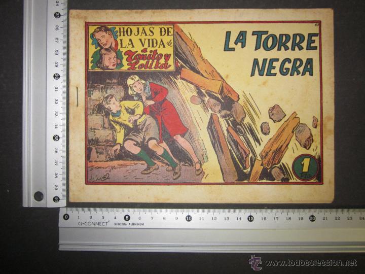 Tebeos: HOJAS DE LA VIDA DE TOÑITO Y LOLITA - NUM 10 -EDICIONES TORAY - DIBUJOS JAIME JUEZ - (COM- 295) - Foto 8 - 46593597