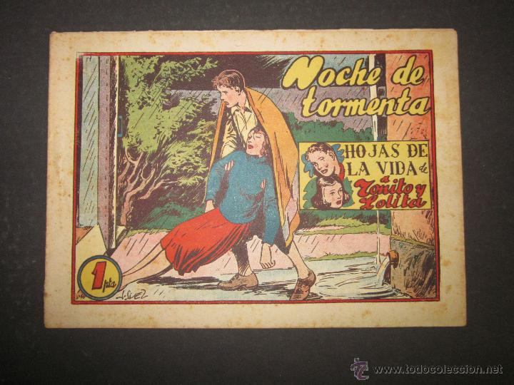 HOJAS DE LA VIDA DE TOÑITO Y LOLITA - NUM 11 -EDICIONES TORAY - DIBUJOS JAIME JUEZ - (COM- 296) (Tebeos y Comics - Toray - Otros)