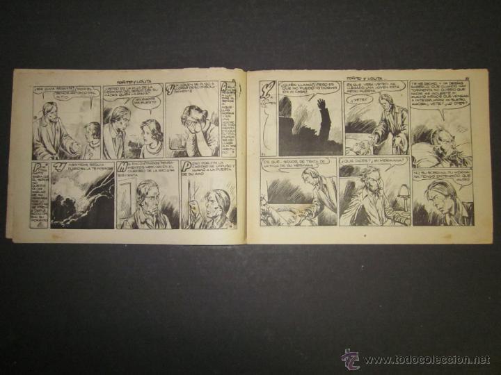 Tebeos: HOJAS DE LA VIDA DE TOÑITO Y LOLITA - NUM 11 -EDICIONES TORAY - DIBUJOS JAIME JUEZ - (COM- 296) - Foto 3 - 46593608