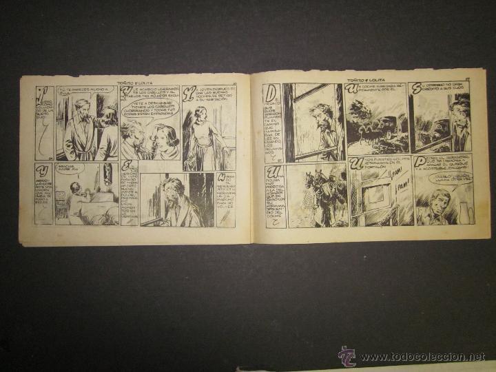Tebeos: HOJAS DE LA VIDA DE TOÑITO Y LOLITA - NUM 11 -EDICIONES TORAY - DIBUJOS JAIME JUEZ - (COM- 296) - Foto 5 - 46593608