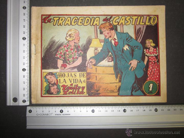 Tebeos: HOJAS DE LA VIDA DE TOÑITO Y LOLITA - NUM 12 -EDICIONES TORAY - DIBUJOS JAIME JUEZ - (COM- 297) - Foto 8 - 46593633