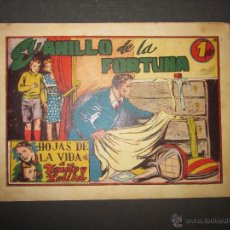 Tebeos: HOJAS DE LA VIDA DE TOÑITO Y LOLITA - NUM 13 -EDICIONES TORAY - DIBUJOS JAIME JUEZ - (COM- 298). Lote 46593656