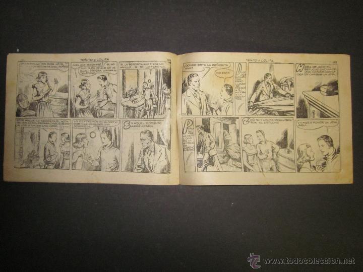 Tebeos: HOJAS DE LA VIDA DE TOÑITO Y LOLITA - NUM 13 -EDICIONES TORAY - DIBUJOS JAIME JUEZ - (COM- 298) - Foto 4 - 46593656