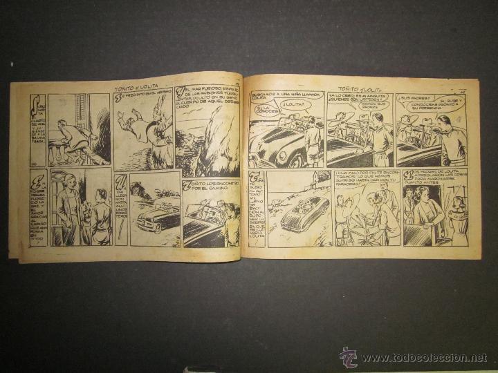 Tebeos: HOJAS DE LA VIDA DE TOÑITO Y LOLITA - NUM 14 -EDICIONES TORAY - DIBUJOS JAIME JUEZ - (COM- 299) - Foto 5 - 46593674