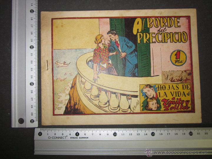 Tebeos: HOJAS DE LA VIDA DE TOÑITO Y LOLITA - NUM 14 -EDICIONES TORAY - DIBUJOS JAIME JUEZ - (COM- 299) - Foto 8 - 46593674