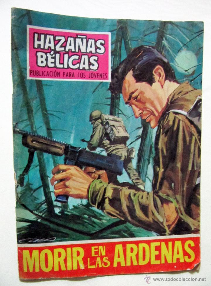 HAZAÑAS BELICAS Nº 191 - MORIR EN LAS ARDENAS - AÑO 1968 (Tebeos y Comics - Toray - Hazañas Bélicas)