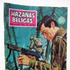 Tebeos: HAZAÑAS BELICAS Nº 191 - MORIR EN LAS ARDENAS - AÑO 1968. Lote 46943639