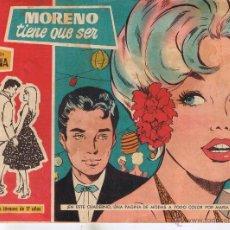 Tebeos: COLECCION SUSANA. Nº 65. MORENO TIENE QUE SER. EDITORIAL TORAY 1959. (RF.C/A26). Lote 46975547