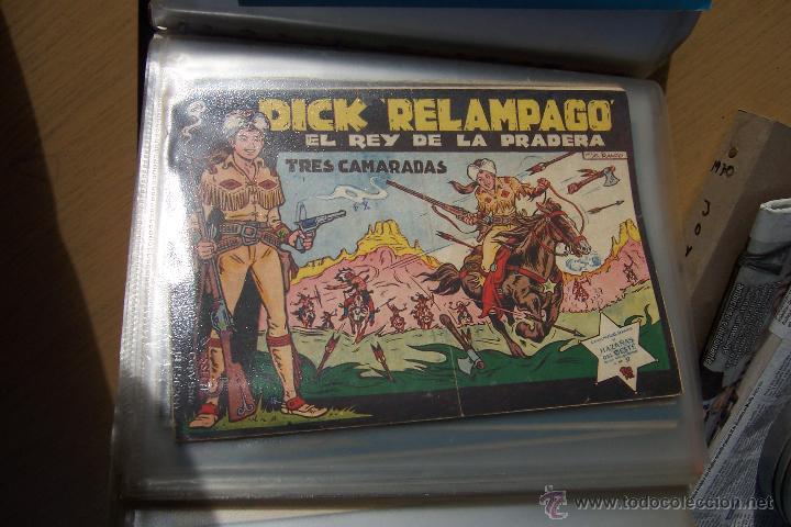 TORAY.- DICK RELÁMPAGO, LOTE DE 28 Nº ORIGINALES COMPLETA (Tebeos y Comics - Toray - Dick Relampago)