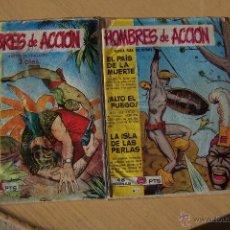 Tebeos: TORAY.- HOMBRES DE ACCIÓN Nº 1 - 2 Y 8. Lote 243765995