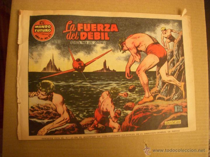 EL MUNDO FUTURO Nº 59, EDITORIAL TORAY (Tebeos y Comics - Toray - Mundo Futuro)