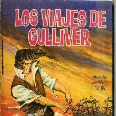 Tebeos: JONATHAN SWIFT : VIAJES DE GULLIVER (TORAY, 1965) ILUSTRADO POR GUERRERO. Lote 47744926