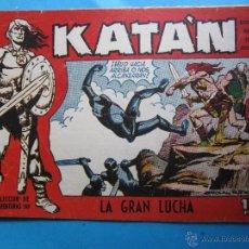 Comics - seleccion de aventuras , 208 , katan, numero 5 , la gran lucha , toray 1958 - 47825370
