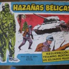 Tebeos: HAZAÑAS BELICAS EXTRA AZUL - LOTE 10 EJEMPLARES -. Lote 91721980