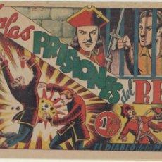 Tebeos: EL DIABLO DE LOS MARES Nº 49. TORAY 1947.. Lote 47961512