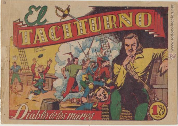 EL DIABLO DE LOS MARES Nº 39. TORAY 1947. (Tebeos y Comics - Toray - Diablo de los Mares)
