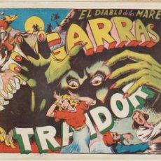Tebeos: EL DIABLO DE LOS MARES ALBUM Nº 4 (IV) TORAY 1949.. Lote 47986901