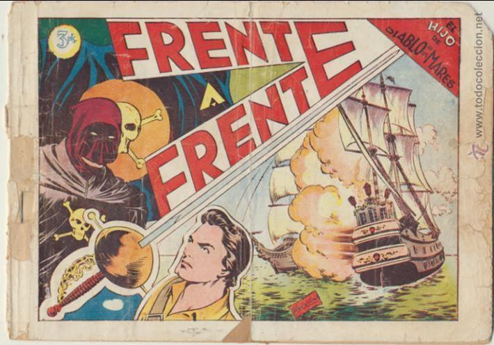 EL HIJO DEL DIABLO DE LOS MARES ALBUM Nº 5 (V) TORAY 1950. (Tebeos y Comics - Toray - Diablo de los Mares)