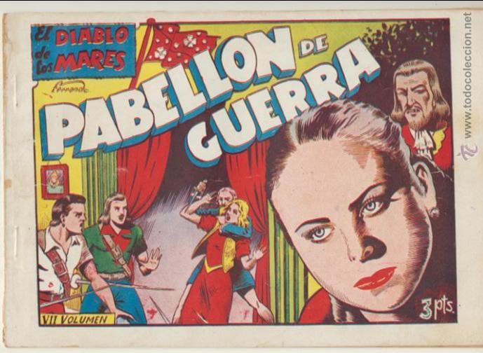 EL DIABLO DE LOS MARES ALBUM Nº 7 (VII) TORAY 1949. (Tebeos y Comics - Toray - Diablo de los Mares)