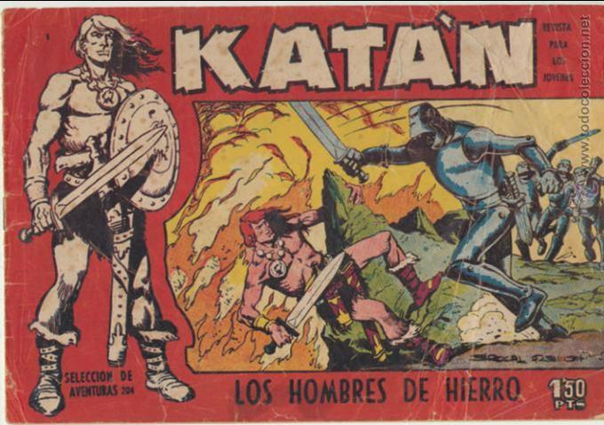 KATÁN Nº 1. TORAY 1960. (Tebeos y Comics - Toray - Katan)