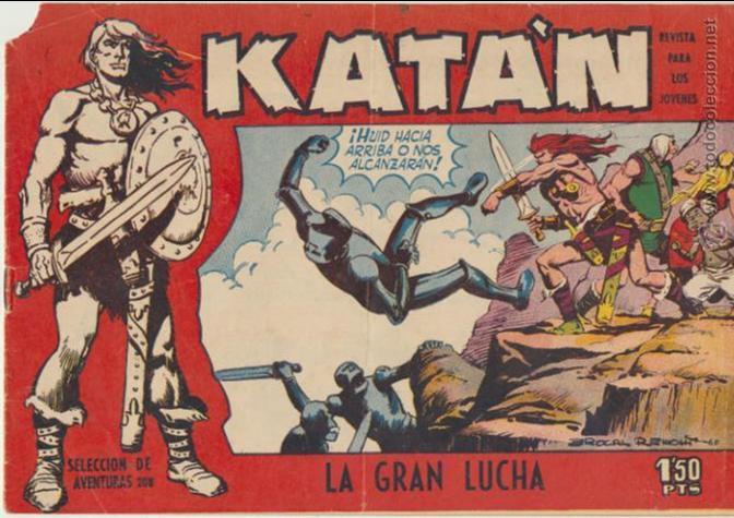 KATÁN Nº 5. TORAY 1960. (Tebeos y Comics - Toray - Katan)
