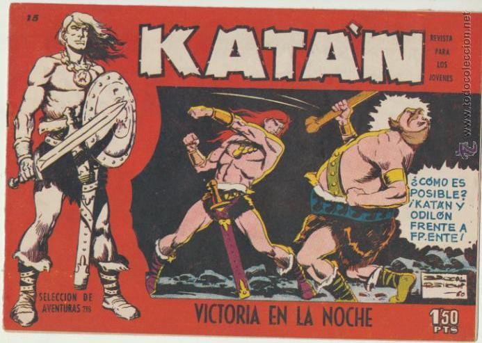 KATÁN Nº 15. TORAY 1960. (Tebeos y Comics - Toray - Katan)