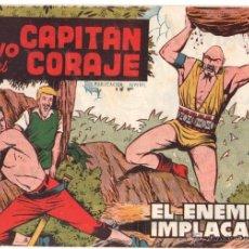 Tebeos: EL HIJO DEL CAPITAN CORAJE Nº 32 EDITORIAL TORAY 1958 ORIGINAL - DIBUJOS GIRALT. Lote 48017245
