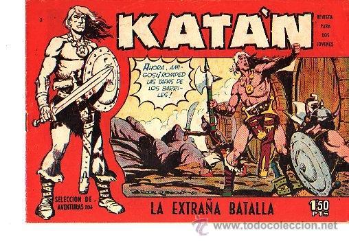KATAN (TORAY) Nº 3 (Tebeos y Comics - Toray - Katan)