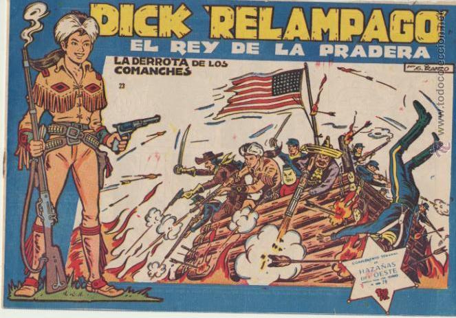DICK RELÁMPAGO Nº 23. TORAY 1959. (Tebeos y Comics - Toray - Dick Relampago)