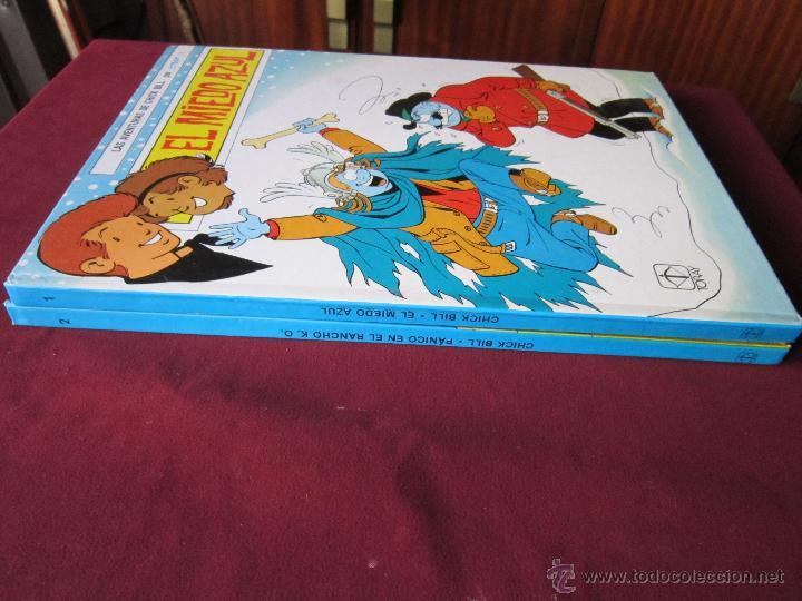 Tebeos: LAS AVENTURAS DE CHICK BILL, 2 tomos completa EDICIONES TORAY, 1986 tebeni Excelentes - Foto 2 - 48160460