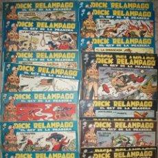 Tebeos: DICK RELAMPAGO (TORAY) COMPLETA 28 NUMEROS. Lote 48314310
