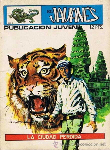 CÓMIC EL JAVANÉS Nº 3 LA CIUDAD PERDIDA (Tebeos y Comics - Toray - Otros)