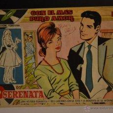 Tebeos: SERENATA Nº 109. TORAY 1959. LITERACOMIC.. Lote 48554795