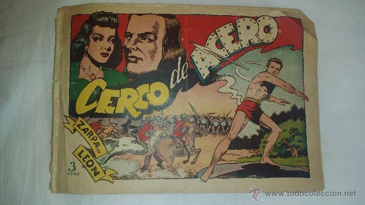 ALBUM TEBEO- ZARPA DE LEON ORIGINAL ED. TORAY (Tebeos y Comics - Toray - Zarpa de León)
