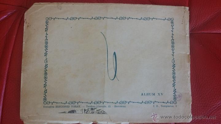 Tebeos: ALBUM TEBEO- ZARPA DE LEON ORIGINAL Ed. TORAY - Foto 5 - 48674656