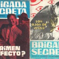 Tebeos: BRIGADA SECRETA - LOTE DE 87 EJEMPLARES , PRECIO DE NAVIDAD - EDICIONES TORAY 1962. Lote 48816058