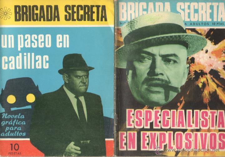 Tebeos: BRIGADA SECRETA - LOTE DE 87 EJEMPLARES , EDICIONES TORAY 1962 - Foto 3 - 48816058