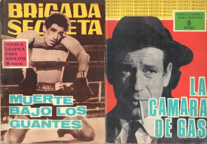 Tebeos: BRIGADA SECRETA - LOTE DE 87 EJEMPLARES , EDICIONES TORAY 1962 - Foto 6 - 48816058